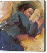 Pam Resting Acrylic Print