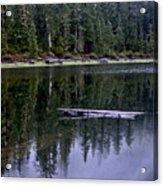 Pamelia Lake Reflection Acrylic Print