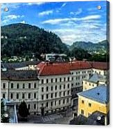 Pamramic Of Salzburg  Acrylic Print