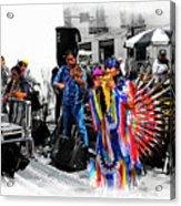 Pan Flutes In Cuenca Acrylic Print