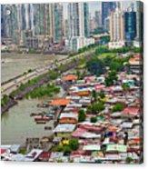 Panama City Acrylic Print by Iris Greenwell