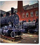 Panama Railroad Locomotive 299 Acrylic Print
