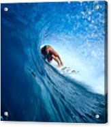Pancho In The Tube Acrylic Print