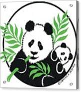Panda Bear Acrylic Print