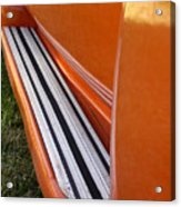 Panel Truck Running Board Acrylic Print