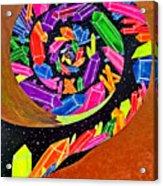 Pangea Spiral Acrylic Print