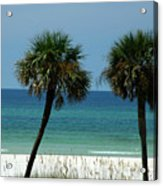 Panhandle Beaches Acrylic Print