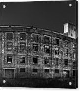 Pano Of The Fort William Starch Company At Sunset Acrylic Print