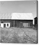 Panorama - Old Barn On 1279-hwy 57 Acrylic Print