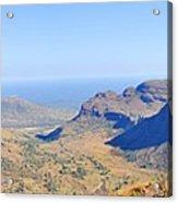 Panorama Mountain View Acrylic Print