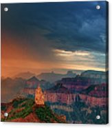 Panorama North Rim Grand Canyon Arizona Acrylic Print