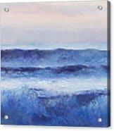 Panorama Ocean Painting Acrylic Print
