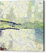 Panorama Of Landscape Acrylic Print