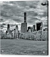 Panorama Of New York City Acrylic Print