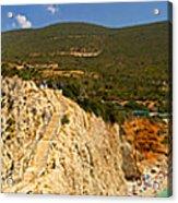 Panorama Of Porto Katsiki Famous Paradise Beach Acrylic Print