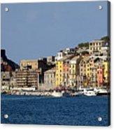 Panorama Of Portovenere Acrylic Print