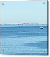 Panorama Of Quincy Bay Acrylic Print