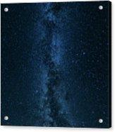 Panorama Of The Milky Way Acrylic Print