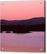 Panorama-predawn Lake Umbagog Acrylic Print