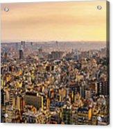 Panoramic Barcelona Acrylic Print
