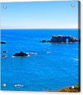 Panoramic California Coast Acrylic Print