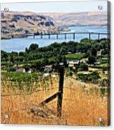 Panoramic Columbia River  Acrylic Print