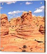 Panoramic Desert Landscape Fantasyland Acrylic Print