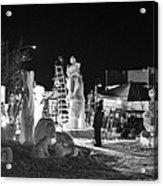 Panoramic Night Acrylic Print