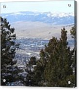 Panoramic Picture Acrylic Print