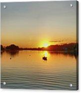 Panoramic Sunset Acrylic Print