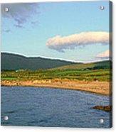 Panoramic View Of Country Cork, Ireland Acrylic Print