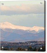 Panoramic View Of Presidential Range Acrylic Print
