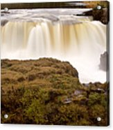Panoramic Waterfall Manitoba Acrylic Print