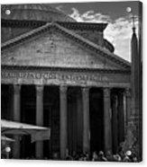 Pantheon Acrylic Print
