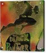 Killmonger Vs Tchalla Acrylic Print