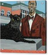 Panther Pride Acrylic Print
