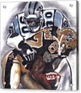 Panthers Vs Saints Acrylic Print