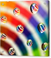 Pantone Bubbles Acrylic Print