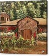 Paoletti  Estates Winery Acrylic Print