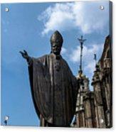 Papa Juan Pablo II - Mexico City I Acrylic Print