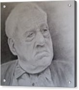 Papa Schupp Acrylic Print