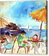 Papagayo Beach Bar In Lanzarote Acrylic Print