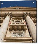 Papal Balcony Acrylic Print