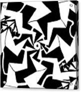 Paparazzi Maze Acrylic Print