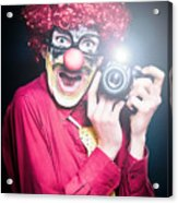 Paparazzi Taking Photograph At Red Carpet Event Acrylic Print