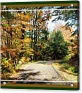 Paper Mill Trail, Framed Acrylic Print