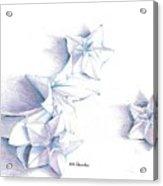 Paper Petals Acrylic Print