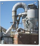 Paper Recycling Plant 1 Acrylic Print