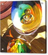 Paperweights Acrylic Print