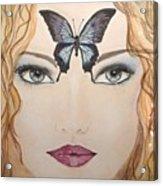 Papillon Acrylic Print